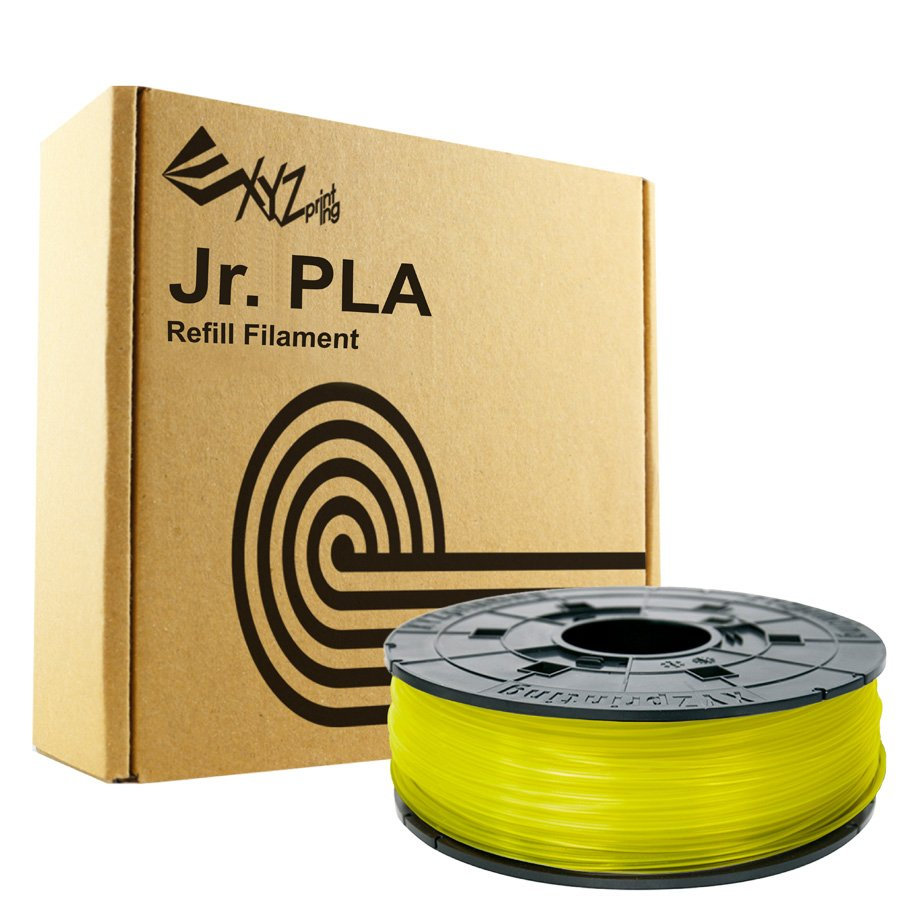 Billede af XYZprinting Da Vinci Junior / Mini PLA - 600g - Transparent Gul