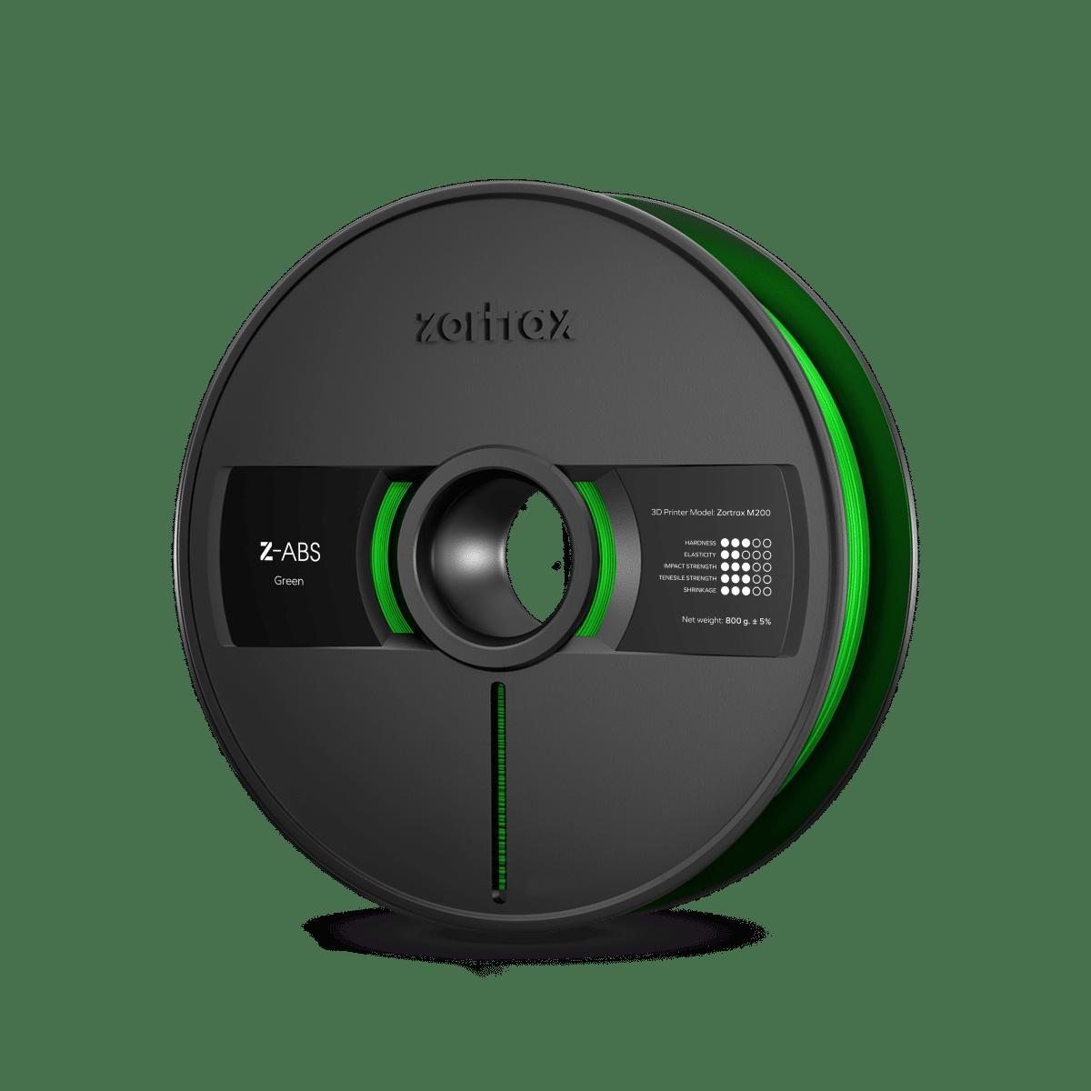 Billede af Zortrax Z-ABS - 1,75mm - 800g - Green