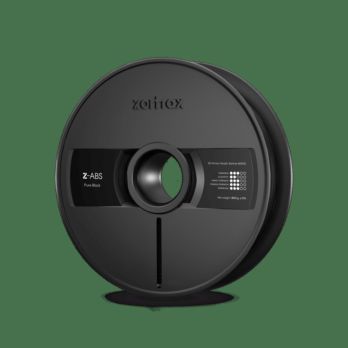 Billede af Zortrax Z-ABS - 1,75mm - 800g - Pure Black
