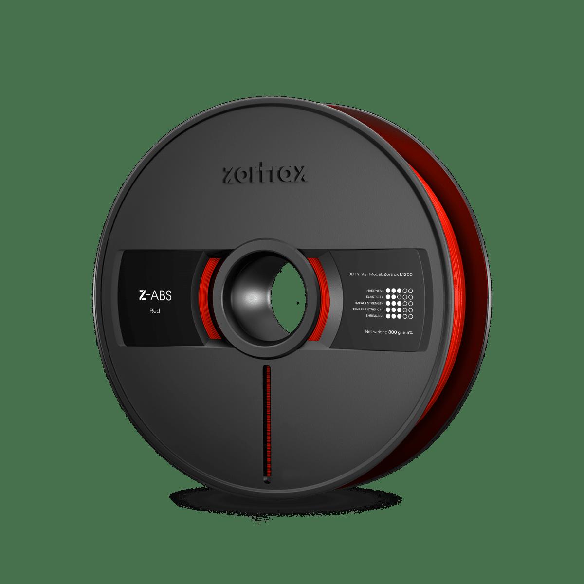 Billede af Zortrax Z-ABS - 1,75mm - 800g - Red