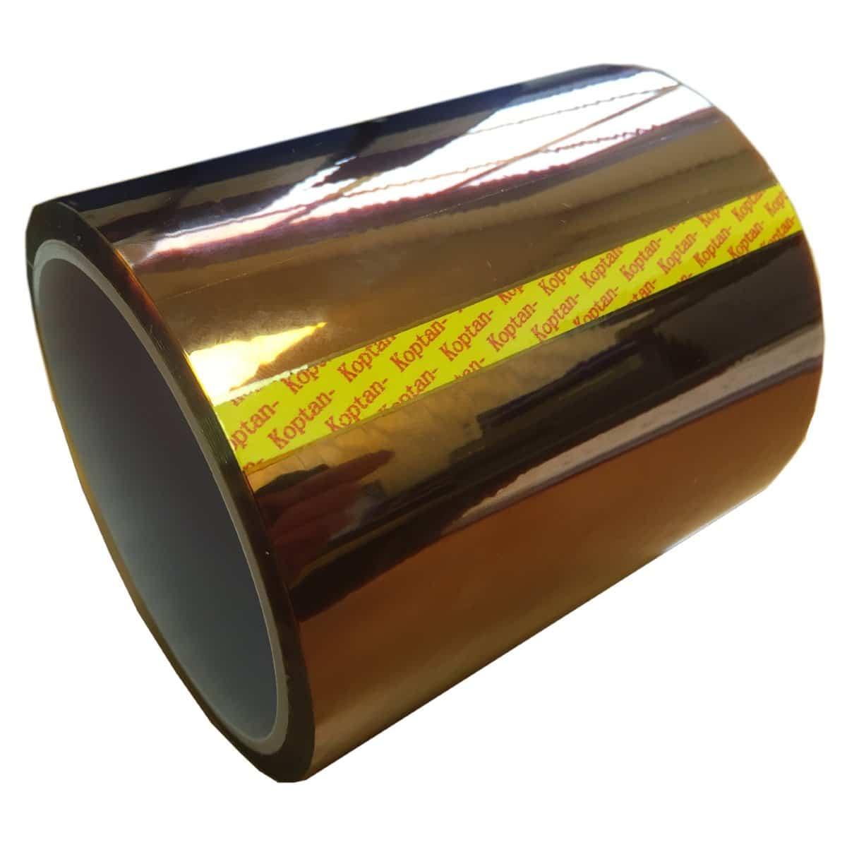 Billede af Polyimide Tape Heat Resistant Wide 100mm x 32m