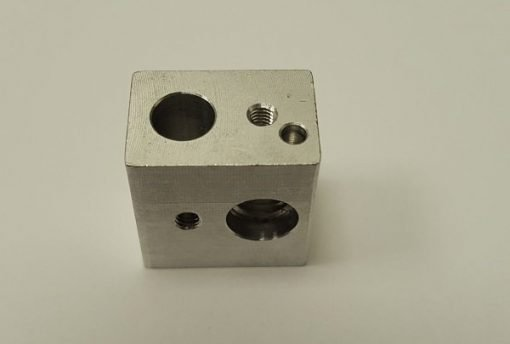 Image of   Wanhao Duplicator i3 Hot end nozzle mounting block