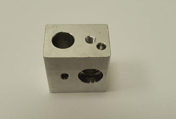 Image of   Wanhao Duplicator i3 Hot end nozzle mounting block
