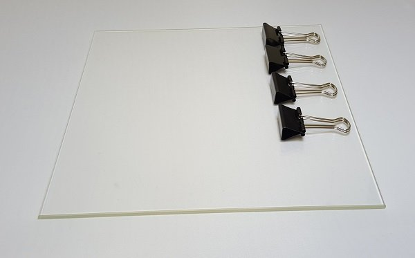 Image of   Wanhao Duplicator i3 Glass plate with clips