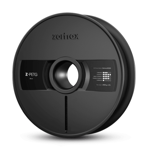 Image of   Zortrax Z-PETG – M300 – 1.75 mm – 2 kg – Black