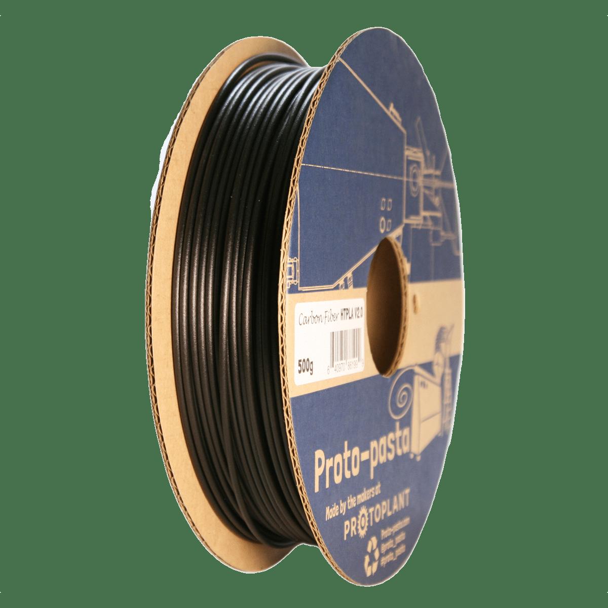 Billede af Proto-pasta High Performance HTPLA V2 Carbon Fiber 1,75mm 500g