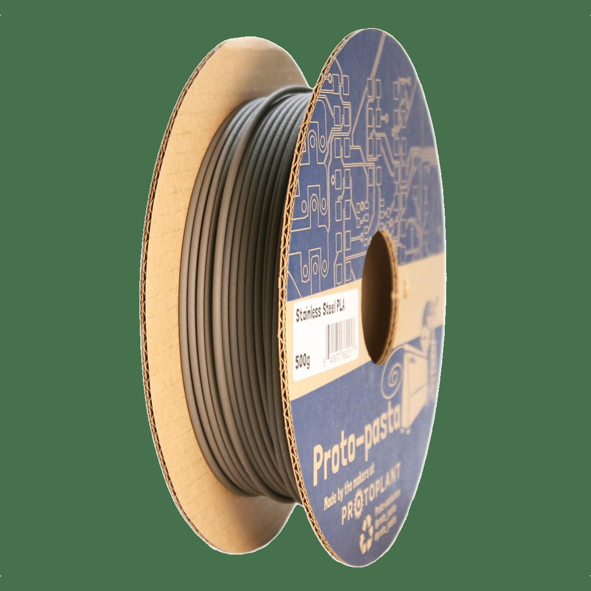 Billede af Proto-pasta Stainless Steel PLA 1.75mm 500g