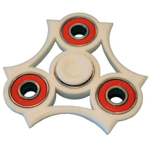 Billede af Fidget Spinner – Blade – 3D Printet