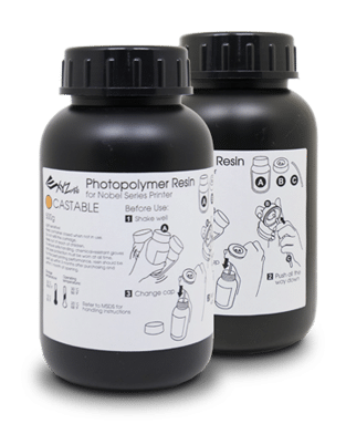 Billede af XYZprinting UV Curable Resin Castable 2 x 500 ml Bottles