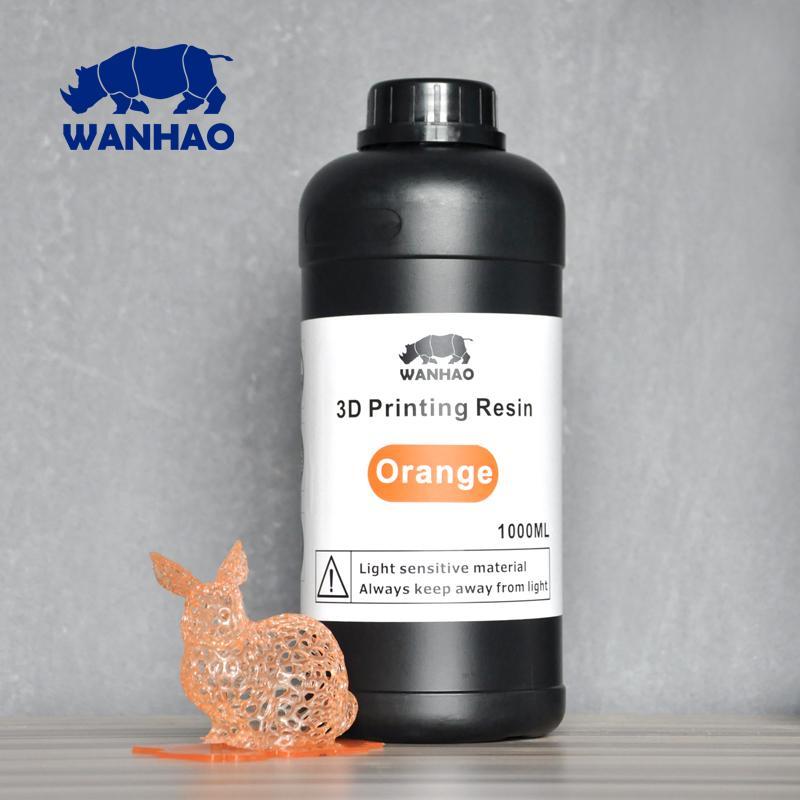 Billede af Wanhao 3D-Printer UV Resin - 1000 ml - Orange