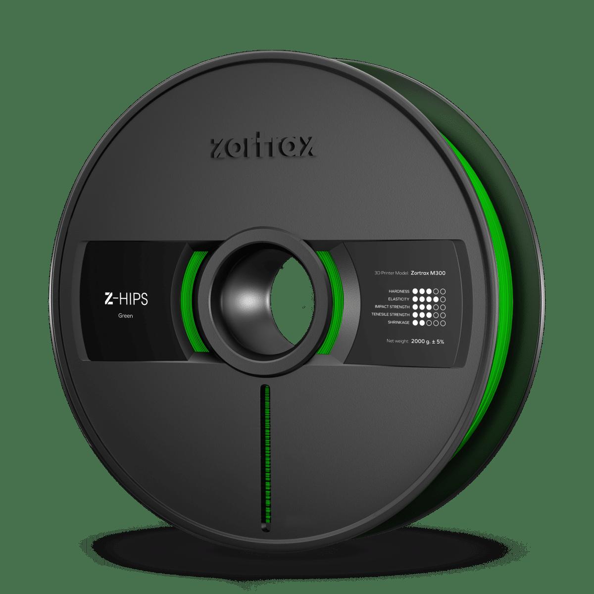 Billede af Zortrax Z-HIPS - M300 - 1.75 mm - 2 kg - Green
