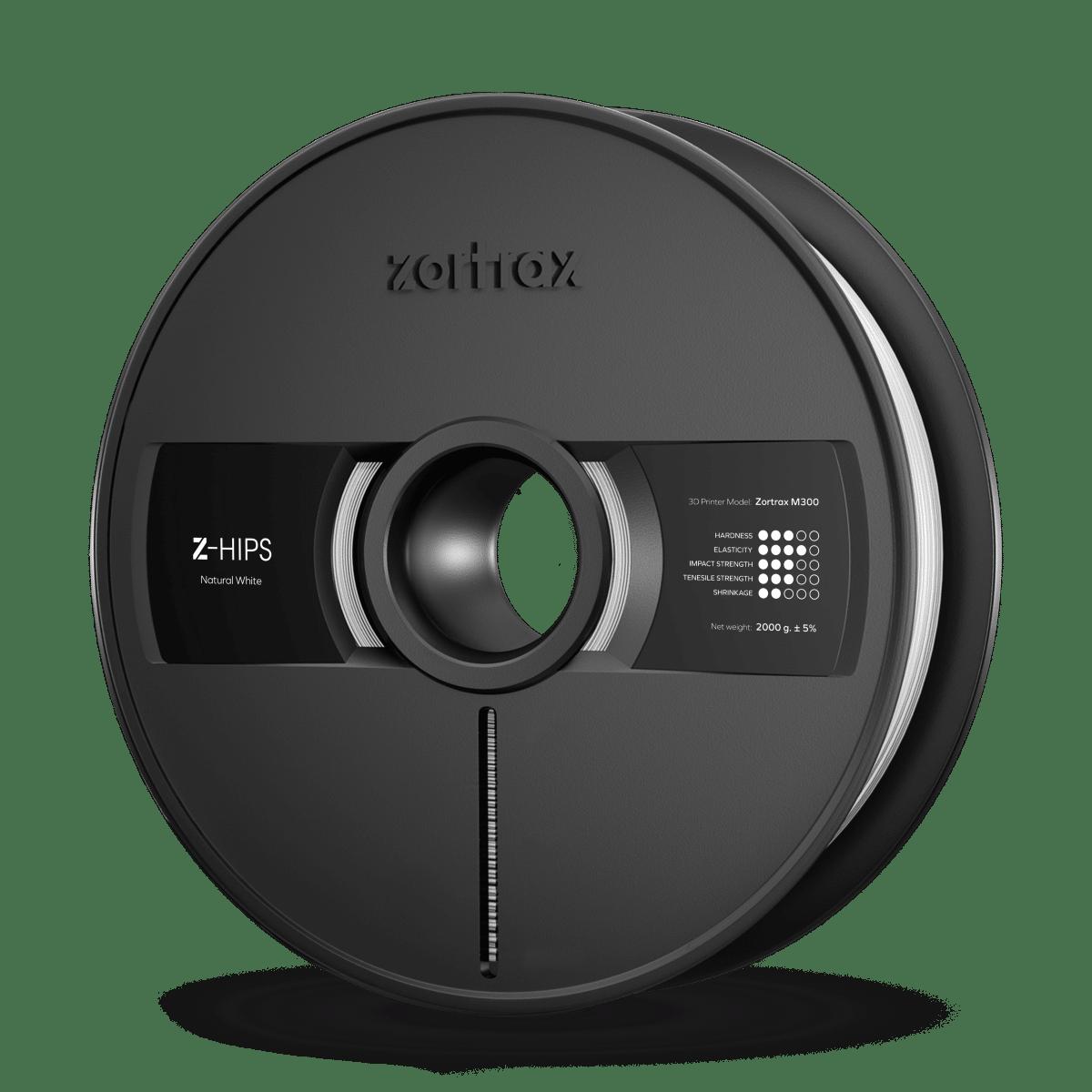 Billede af Zortrax Z-HIPS - M300 - 1.75 mm - 2 kg - Natural White