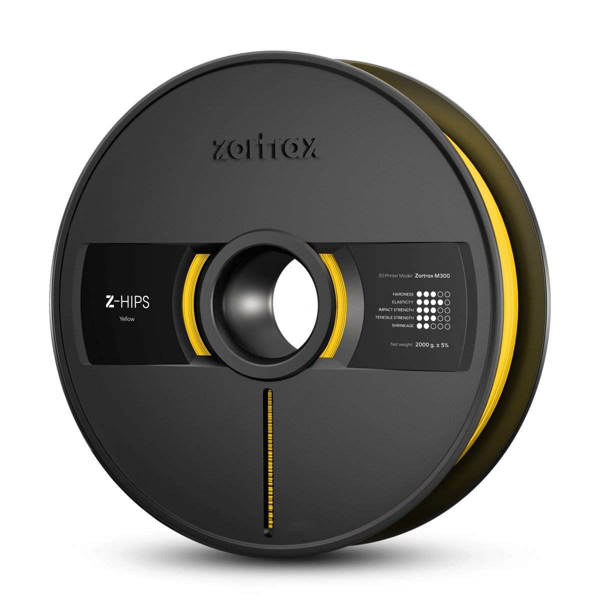 Billede af Zortrax Z-HIPS - M300 - 1.75 mm - 2 kg - Yellow