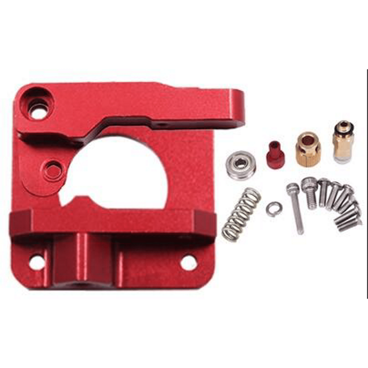 Image of   CR10 / MK8 Red Metal Extruder Kit