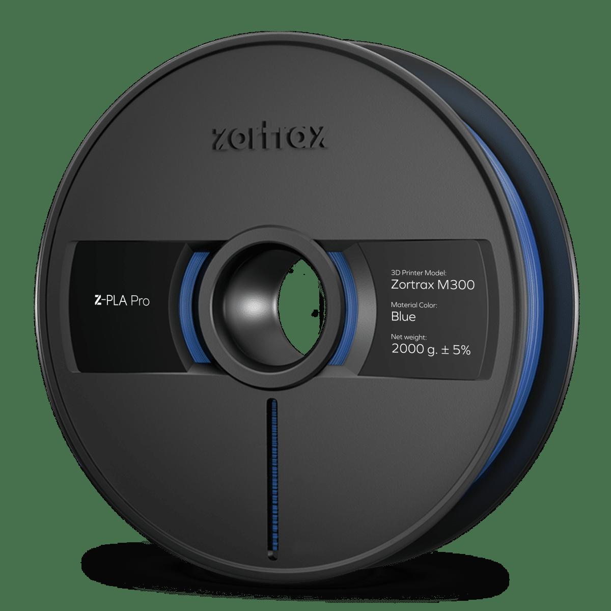 Billede af Zortrax Z-PLA Pro - M300 - 1,75mm - 2 kg - Blue