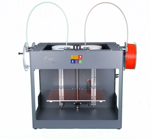 Image of   CraftBot 3 – Grey 3D Printer