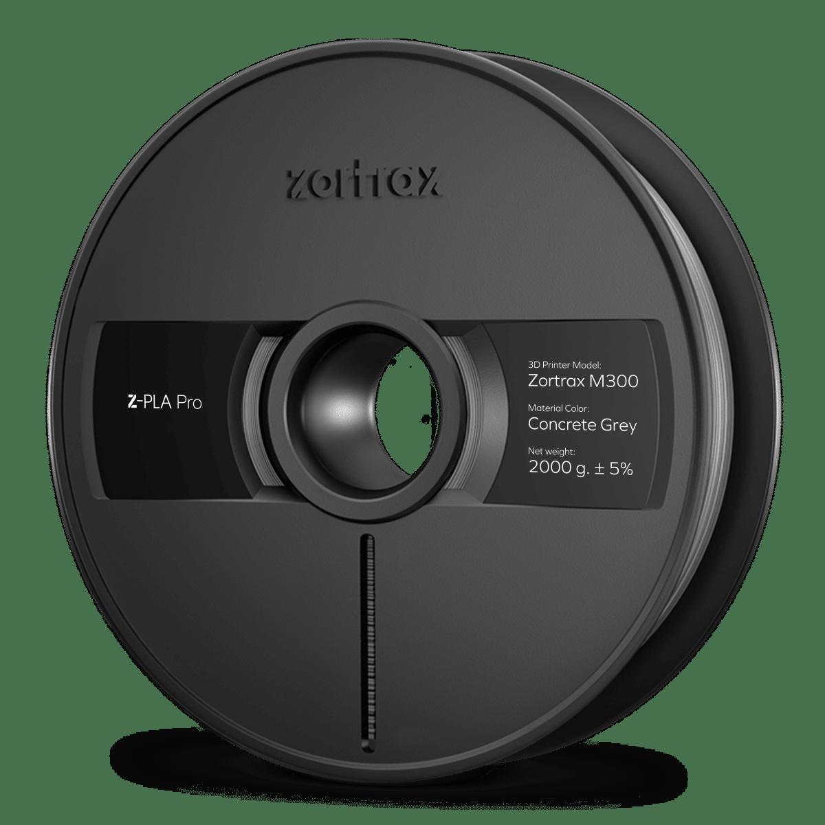 Billede af Zortrax Z-PLA Pro - M300 - 1,75mm - 2 kg - Concrete Grey