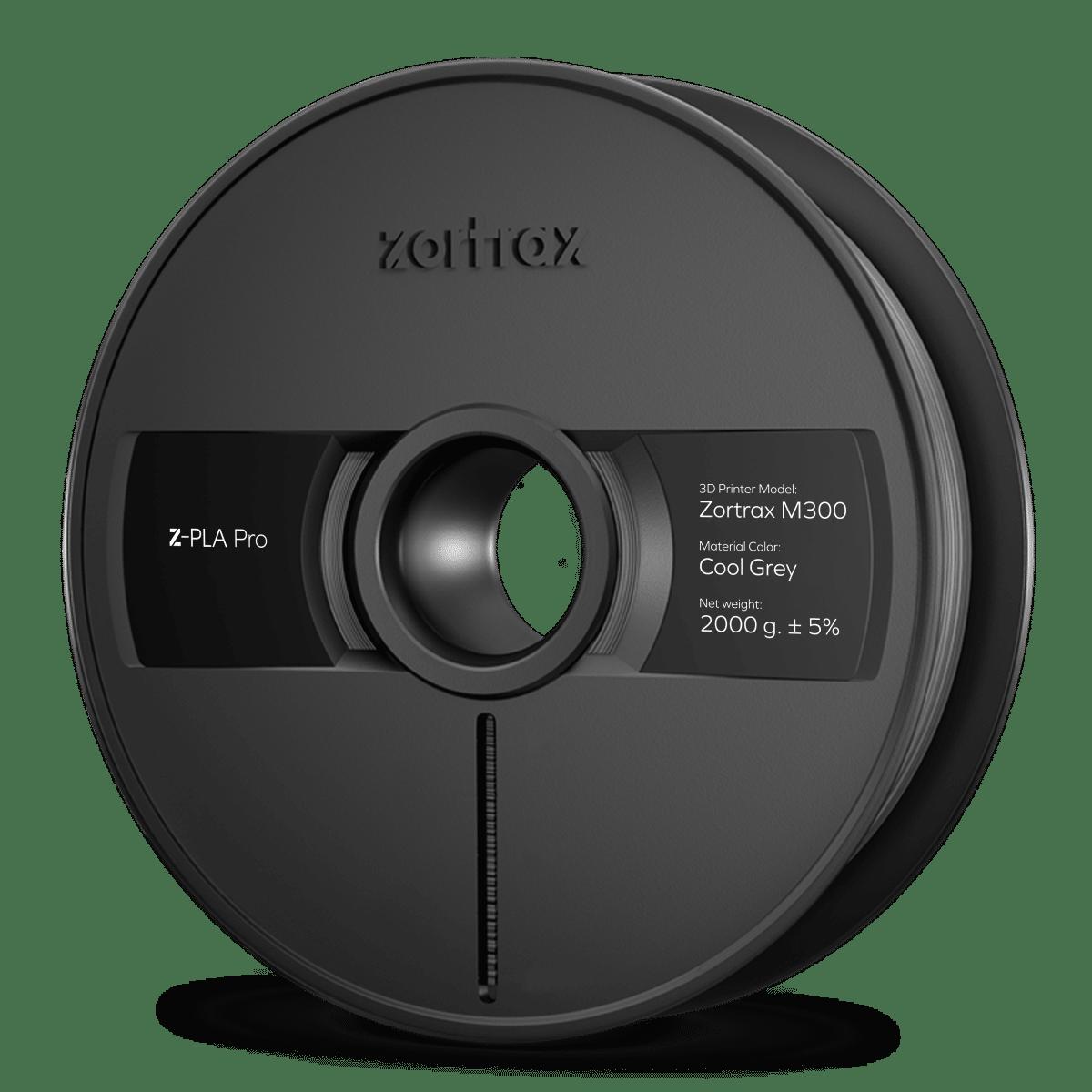 Billede af Zortrax Z-PLA Pro - M300 - 1,75mm - 2 kg - Cool Grey
