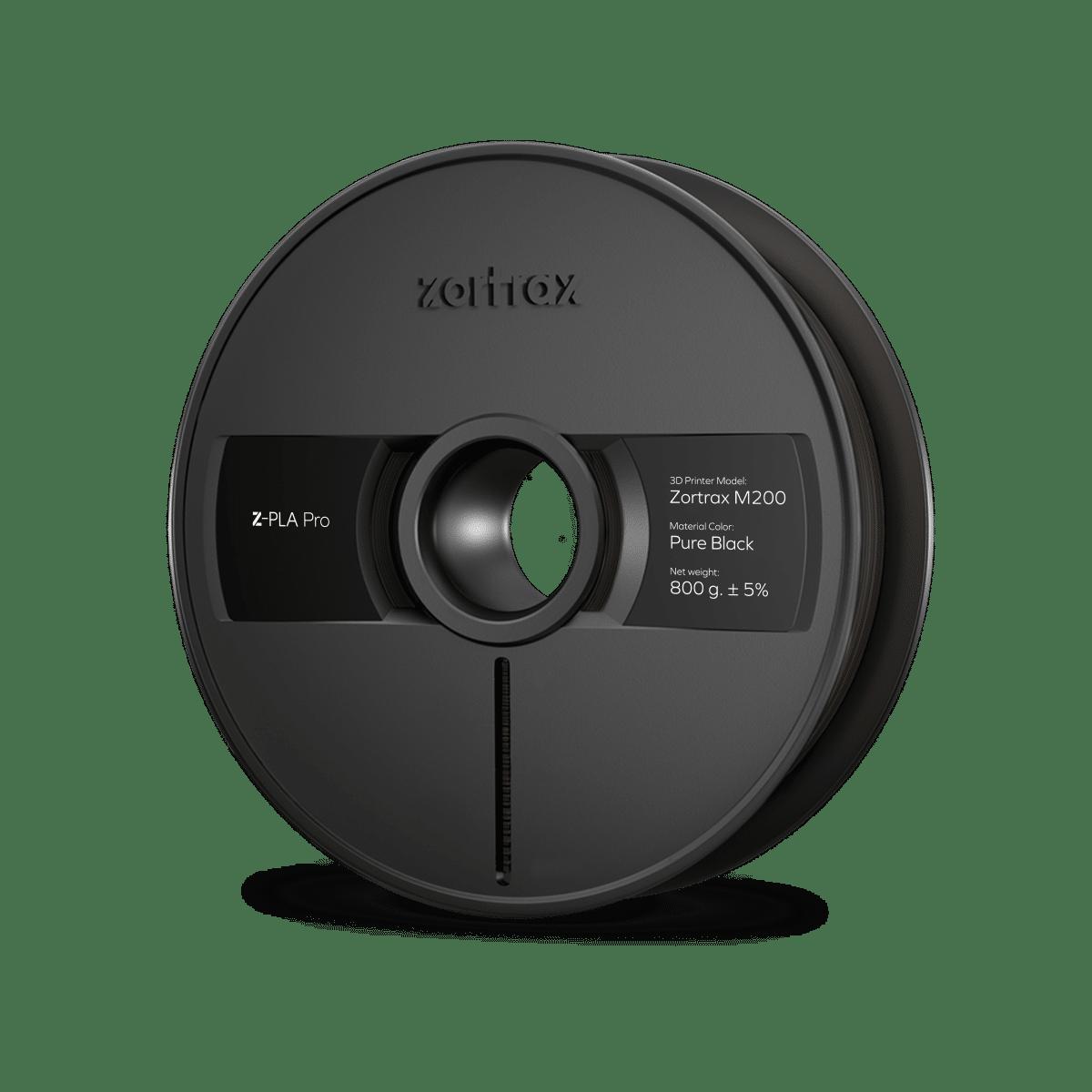 Billede af Zortrax Z-PLA Pro - 1,75mm - 800g - Pure Black
