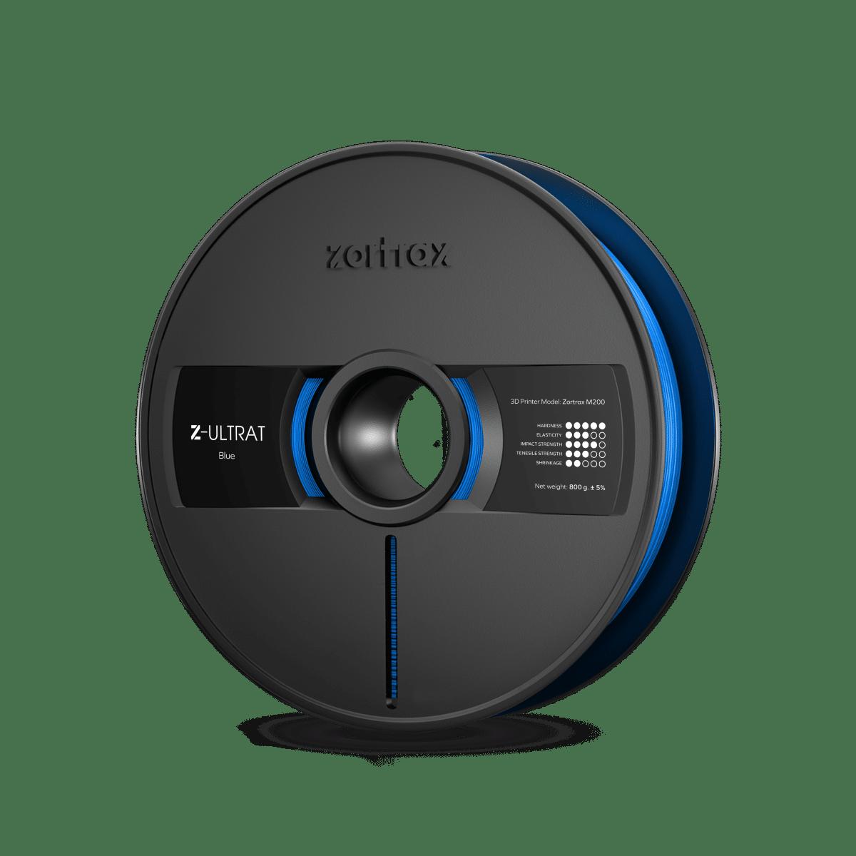 Billede af Zortrax Z-ULTRAT - 1.75mm - 800g - Blue