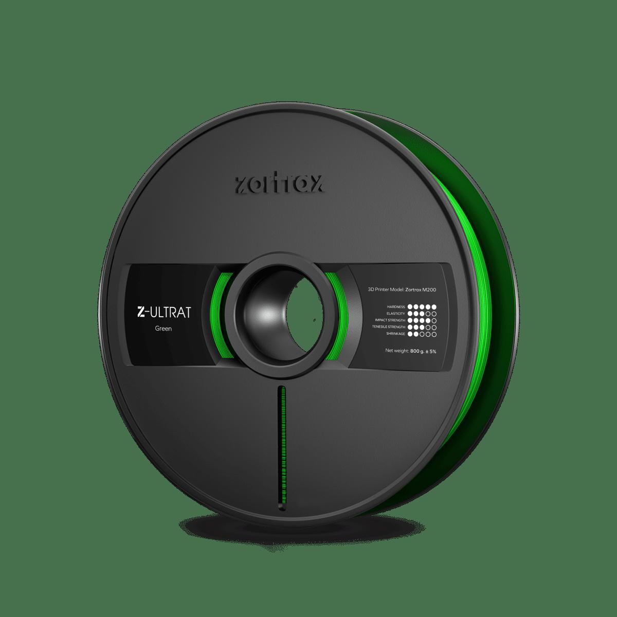 Billede af Zortrax Z-ULTRAT - 1.75mm - 800g - Green