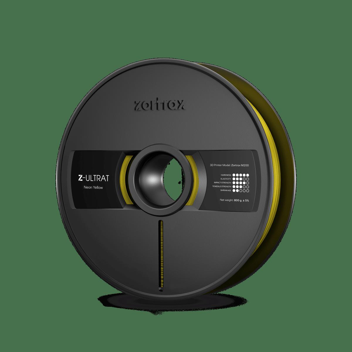 Billede af Zortrax Z-ULTRAT - 1.75mm - 800g - Neon Yellow
