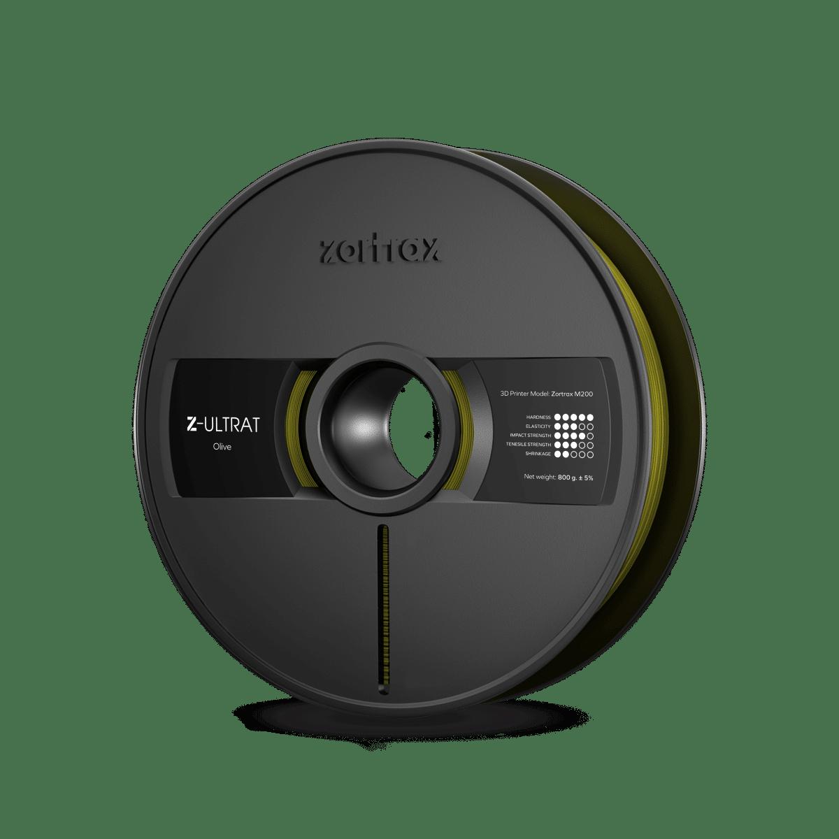 Billede af Zortrax Z-ULTRAT - 1.75mm - 800g - Olive