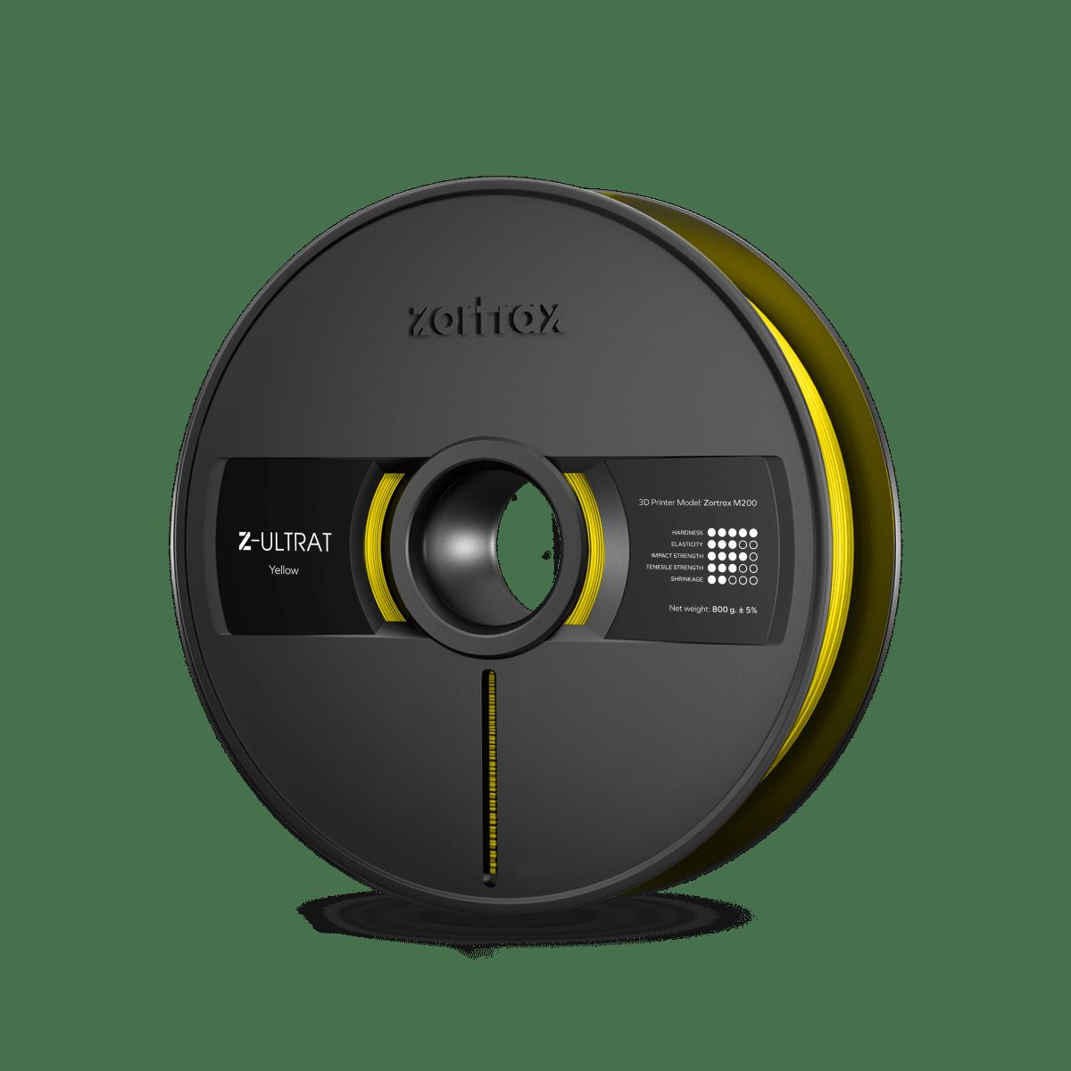 Billede af Zortrax Z-ULTRAT - 1.75mm - 800g - Yellow