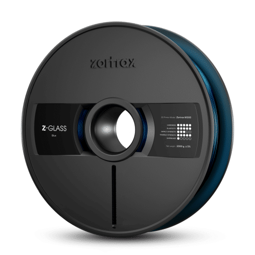 Zortrax Z-GLASS – M300 – 1.75 mm – 2 kg – Blue