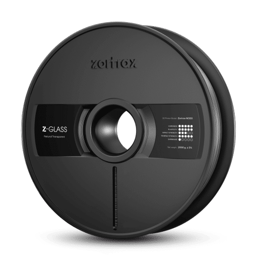 Zortrax Z-GLASS – M300 – 1.75 mm – 2 kg – Clear