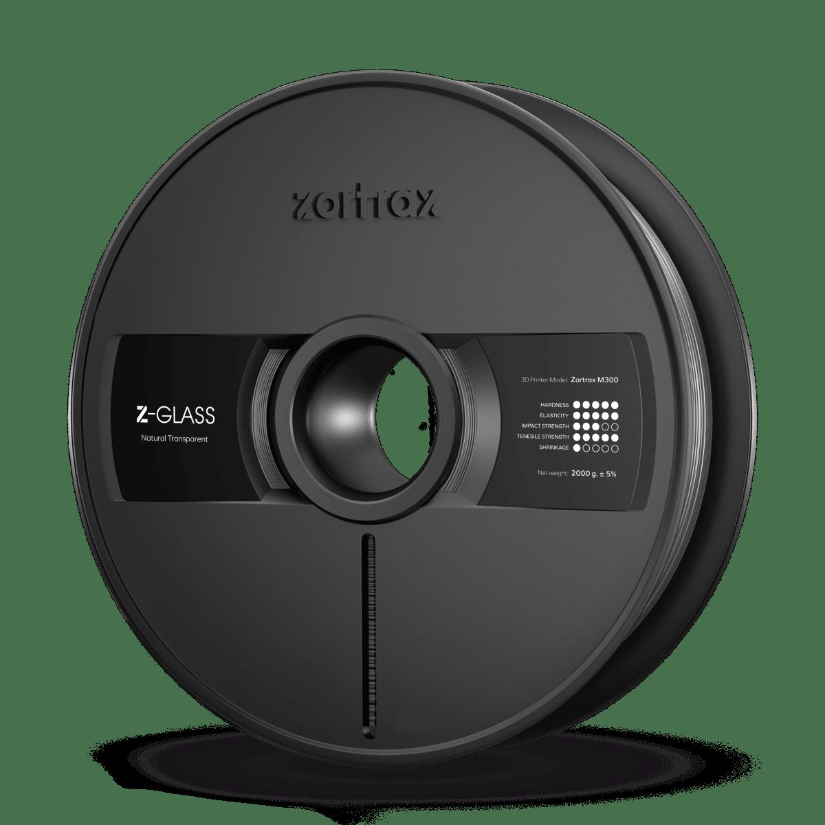 Billede af Zortrax Z-GLASS - M300 - 1.75 mm - 2 kg - Clear