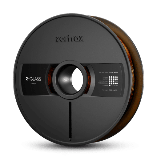 Zortrax Z-GLASS – M300 – 1.75 mm – 2 kg – Orange