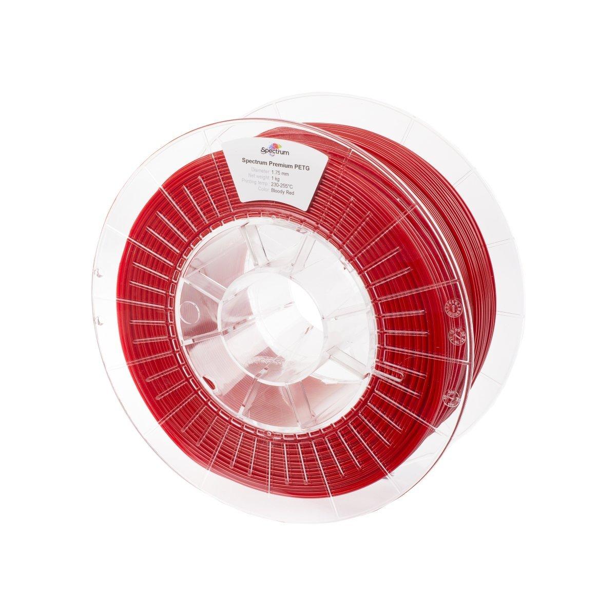 Billede af Spectrum Filaments - PETG - 1.75mm - Bloody Red - 1 kg