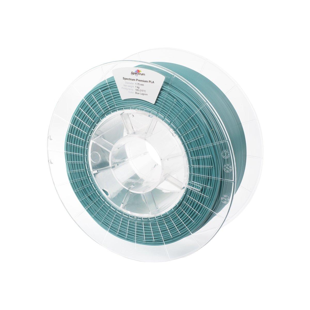 Billede af Spectrum Filaments - PLA - 1.75mm - Blue Lagoon - 1 kg