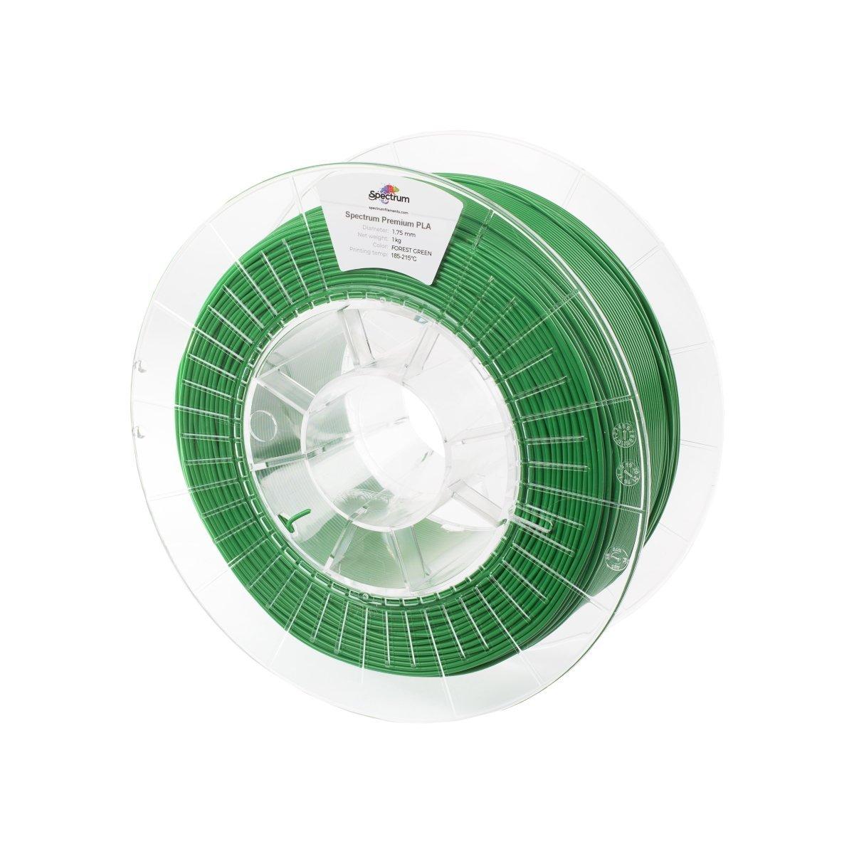 Billede af Spectrum Filaments - PLA - 1.75mm - Forest Green - 1 kg