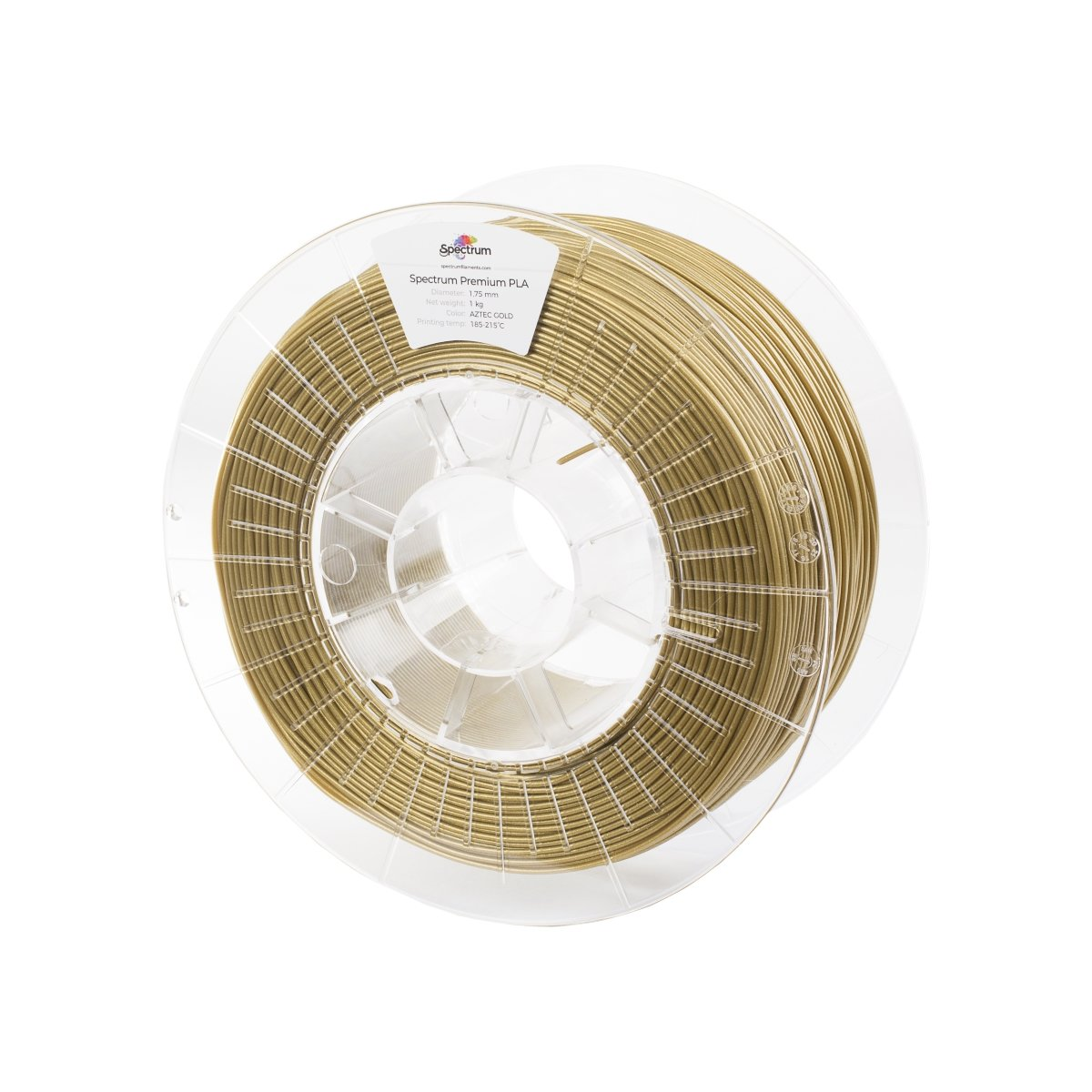 Billede af Spectrum Filaments - PLA - 1.75mm - Aztec Gold - 1 kg
