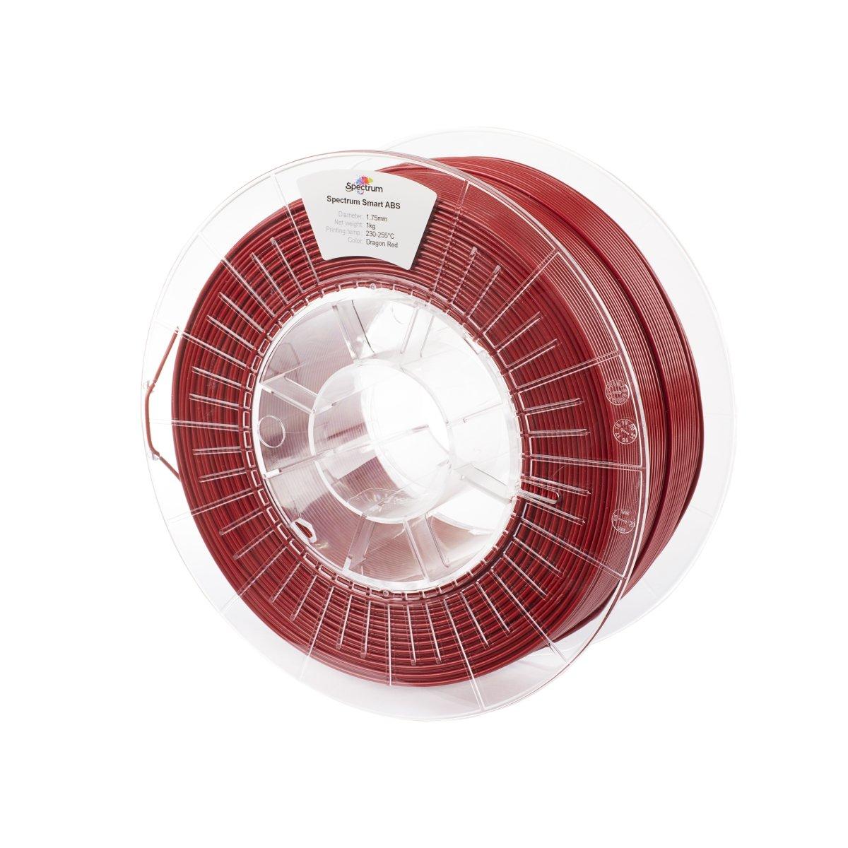 Billede af Spectrum Filaments - Smart ABS - 1.75mm - Dragon Red - 1 kg
