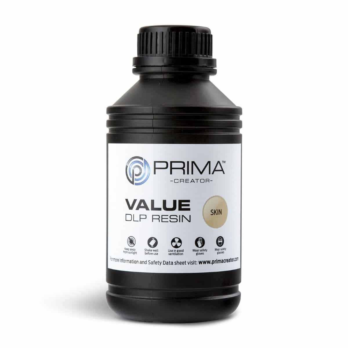 Image of PrimaCreator Value UV / DLP Resin - 500 ml - Skin
