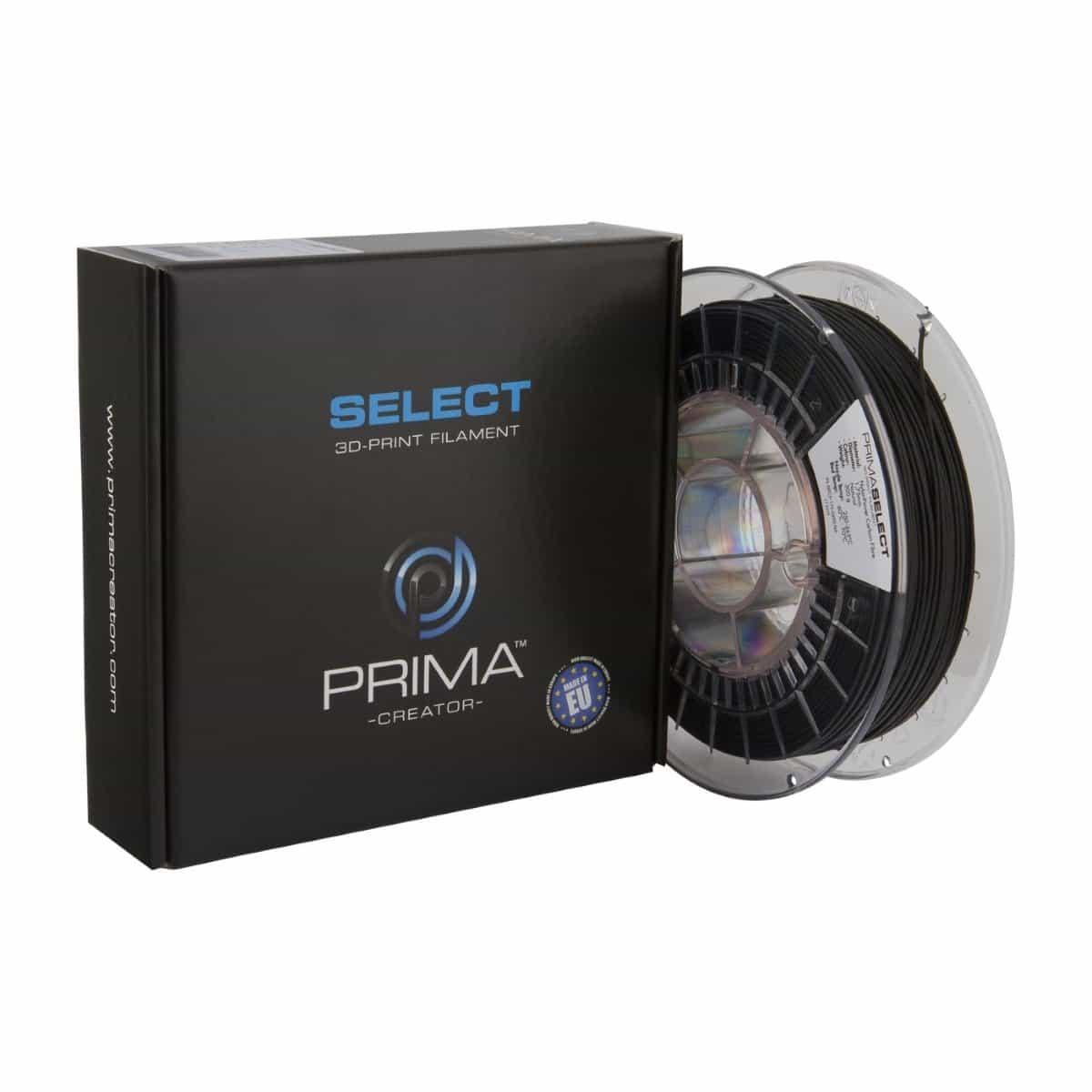 Image of PrimaSelect NylonPower Carbon Fibre - 1.75mm - 500g - Natural - Black