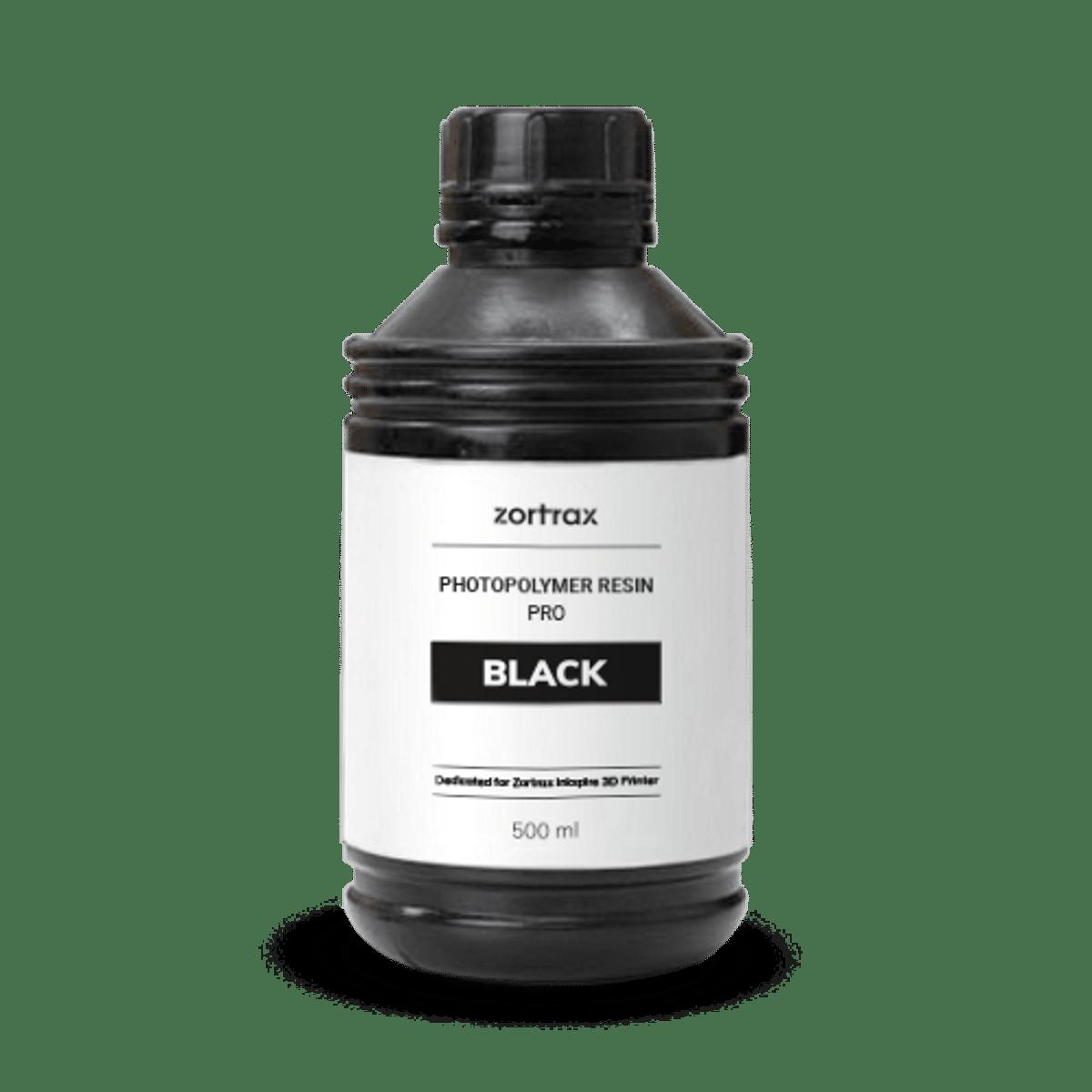 Billede af Zortrax UV Resin - Pro - 500ml - Black