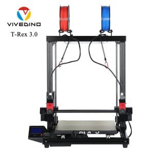 Vivedino Formbot T-Rex 3.0 - Dual Extruder Idex - 400x400x500mm