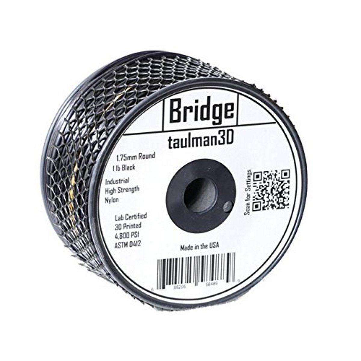 Image of   Taulman Bridge Nylon - 1.75mm - 450g - Black