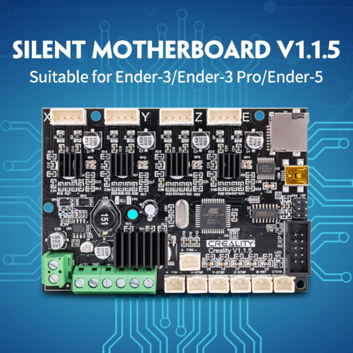 Image of Creality 3D Silent 1.1.5 Mainboard for Ender 5
