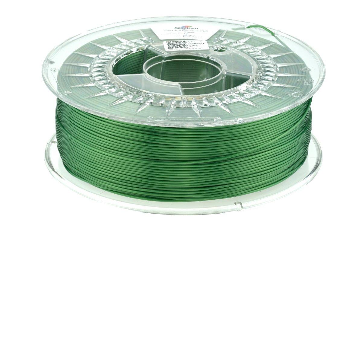 Billede af Spectrum Filaments - PLA Silk - 1.75mm - Tropical Green - 1 kg