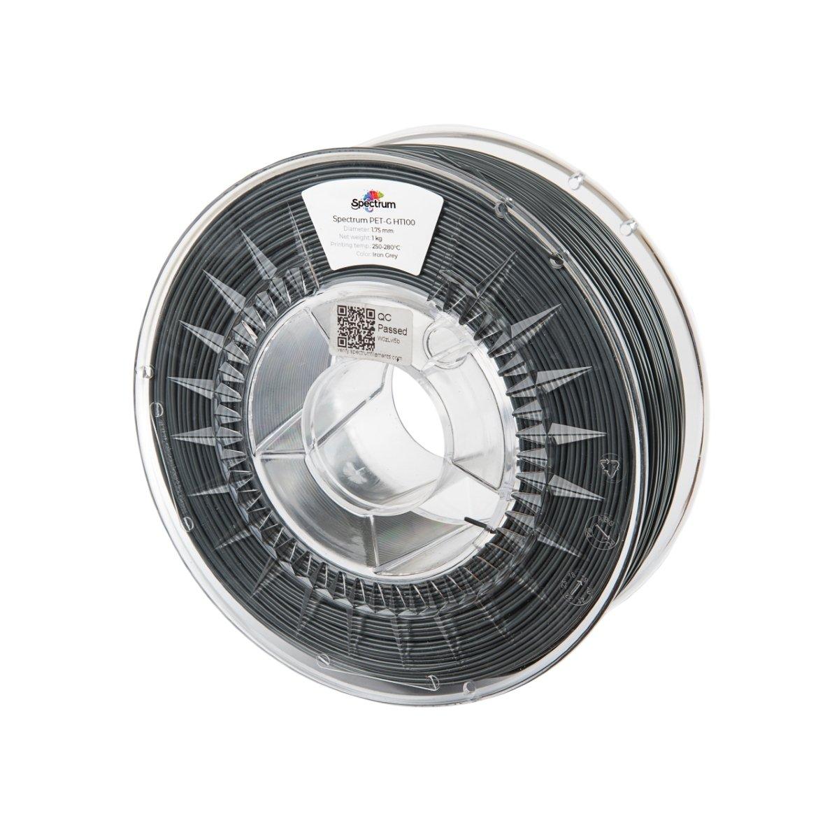 Billede af Spectrum Filaments - PETG HT100 - 1.75mm - Iron Grey - 1 kg