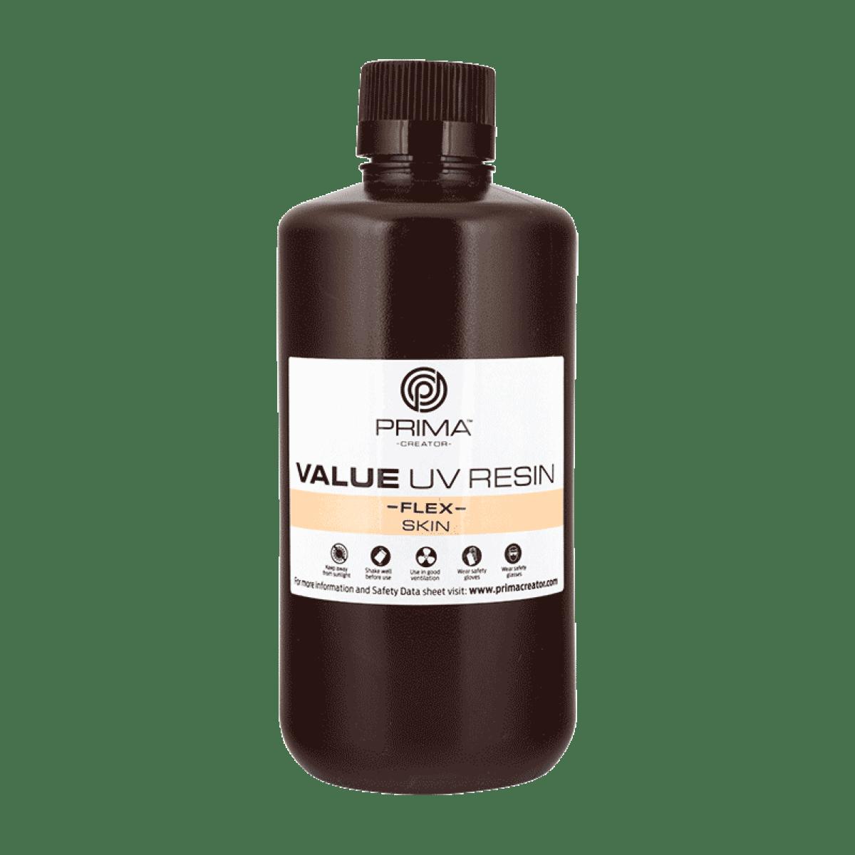 Image of PrimaCreator Value Flex UV Resin - 1000 ml - Skin