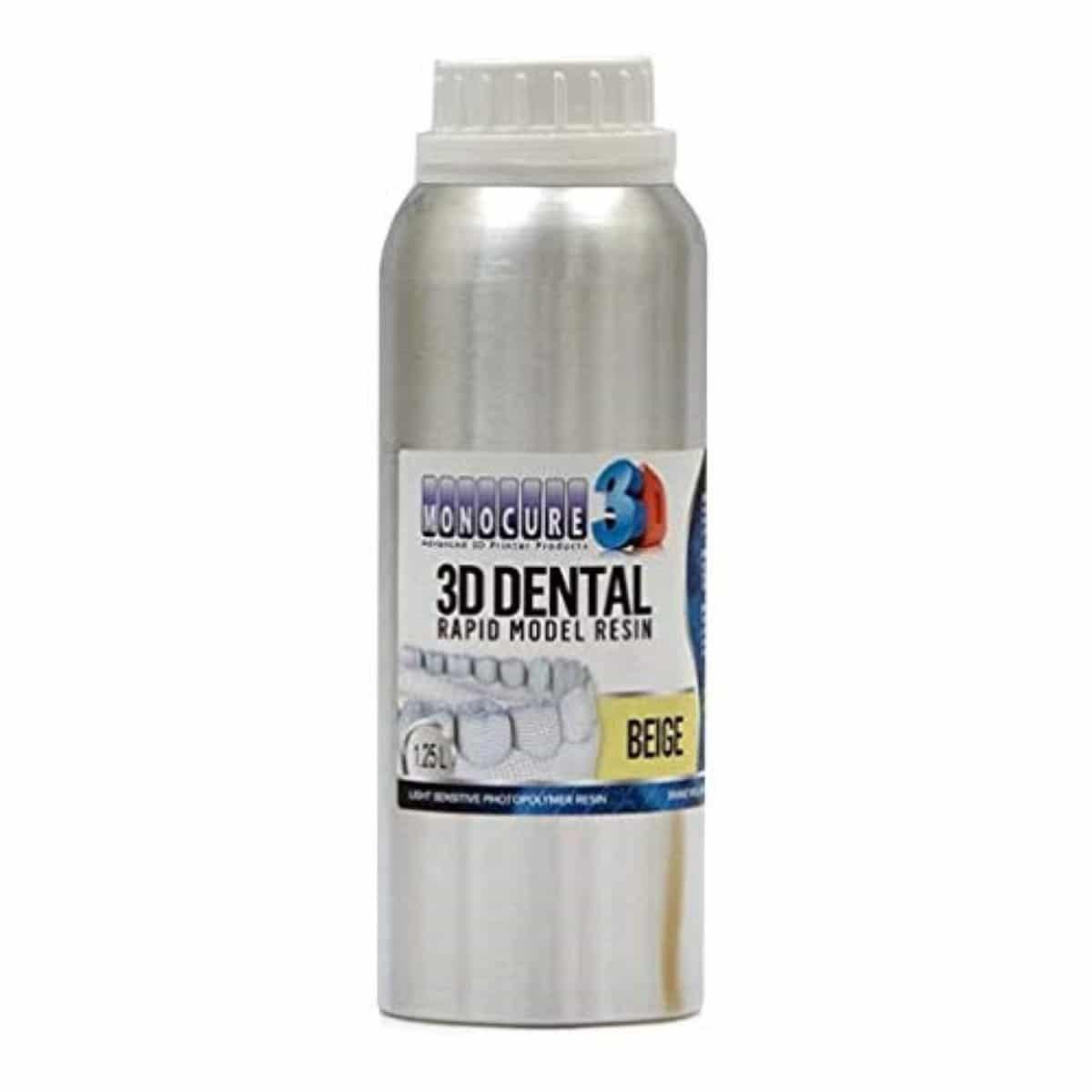 Image of   Monocure 3D - Rapid Dental Resin - 1,25 l - Beige