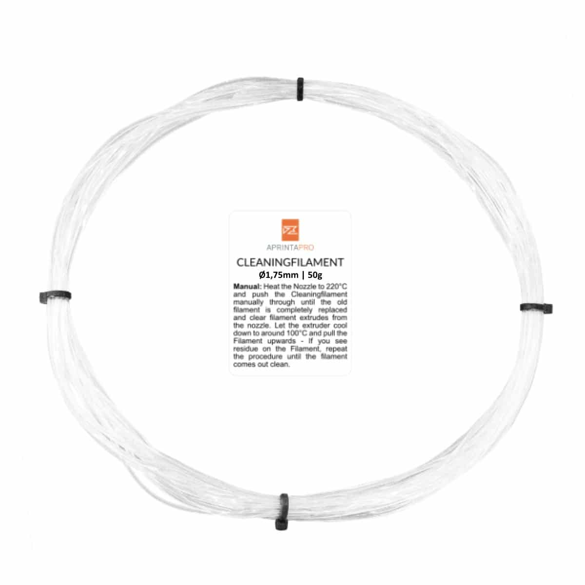 Image of   APRINTAPRO Cleaning Filament - 1.75mm - 50g